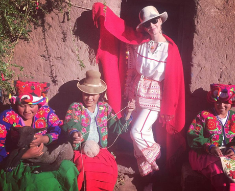 Katy Perry In Peru