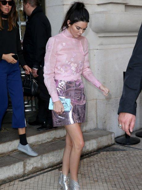 Kendall Jenner Paris Fashion Week 2015