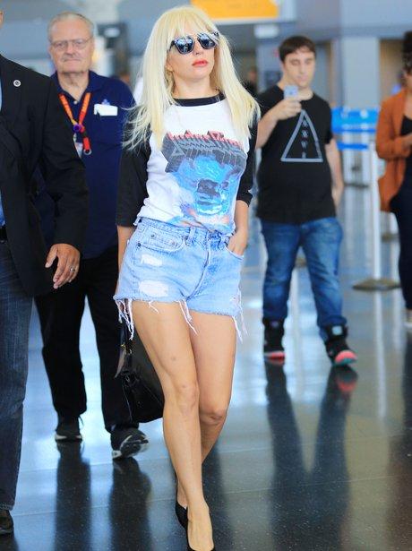 dy Gaga Denim Shorts