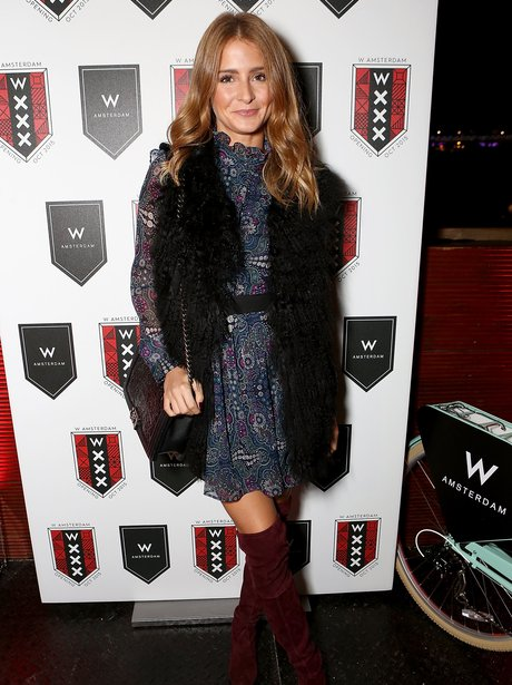 Millie Mackintosh wearing a gilet
