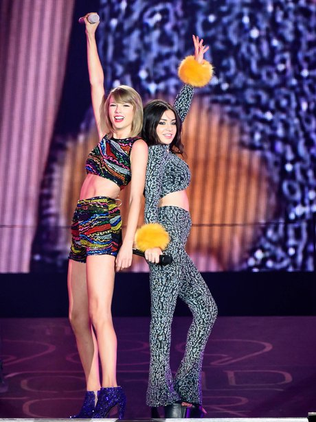 Taylor Swift and Charli XCX 1989 Tour
