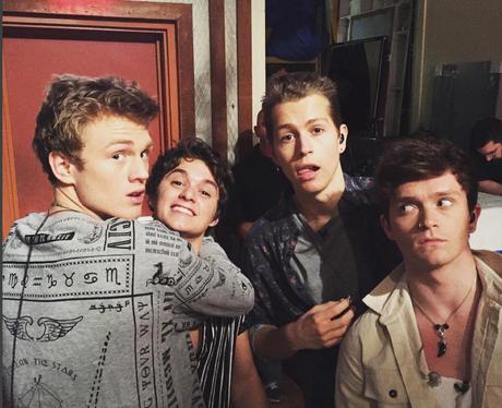 The Vamps on instagram