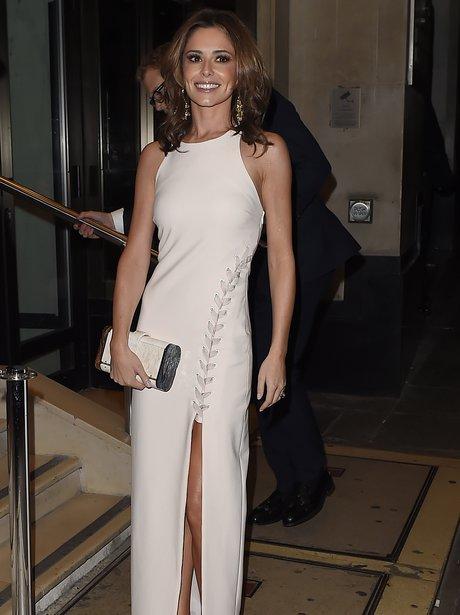 Cheryl Cole White Dress
