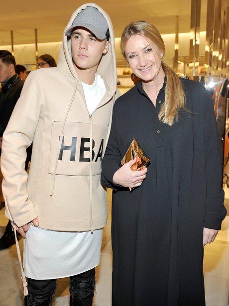 Justin Bieber and Anya Hindmarch