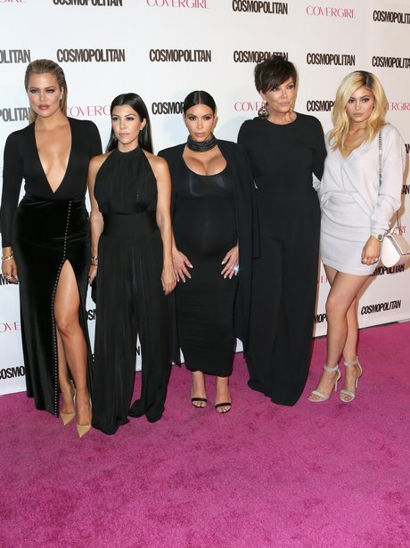Kardashians Cosmpolitan 50th Birthday