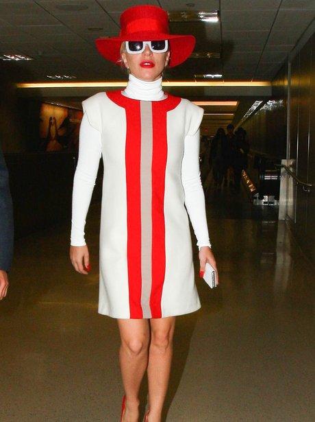 Lady Gaga 60's Dress