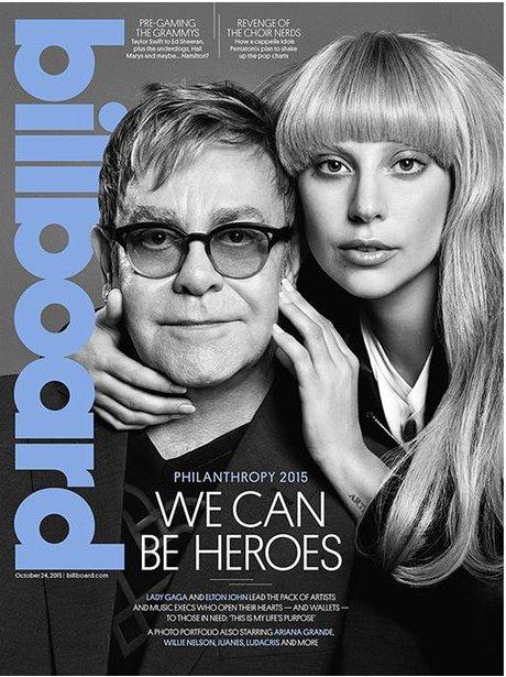 Lady Gaga Billboard Magazine 2015