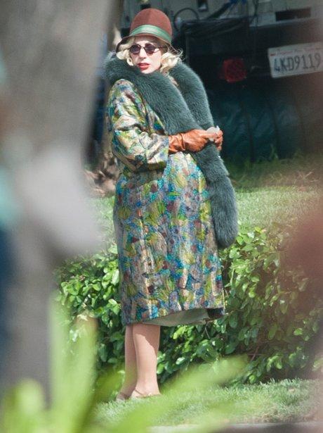 Lady Gaga Fake Bump American Horror Story Hotel