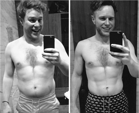 Olly Murs Body Transformation