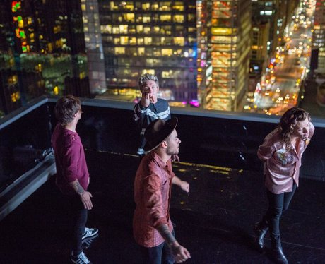 One Direction 'Perfect' Video Shoot