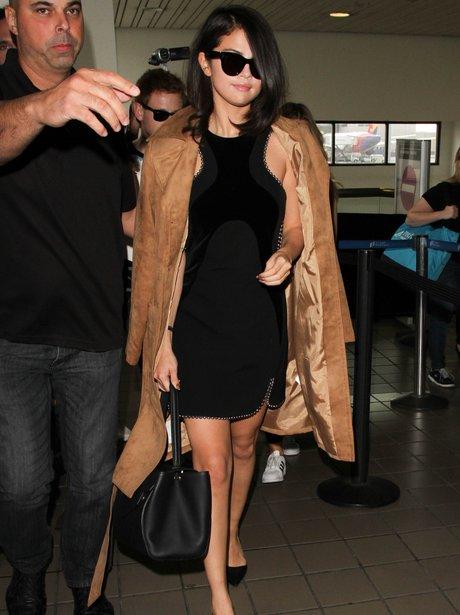 Selena Gomez Airport