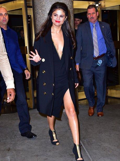 Selena Gomez Low Dress