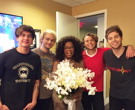 5 Seconds Of Summer With Oprah