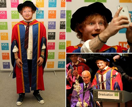 Ed Sheeran Graduation