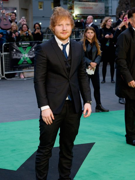 Ed Sheeran Jumpers For Goalposts Premiere