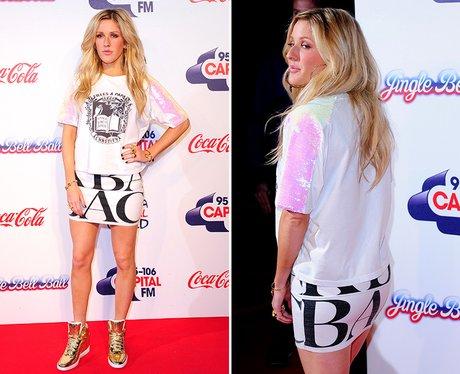 Ellie Goulding Jingle Bell Ball 2013