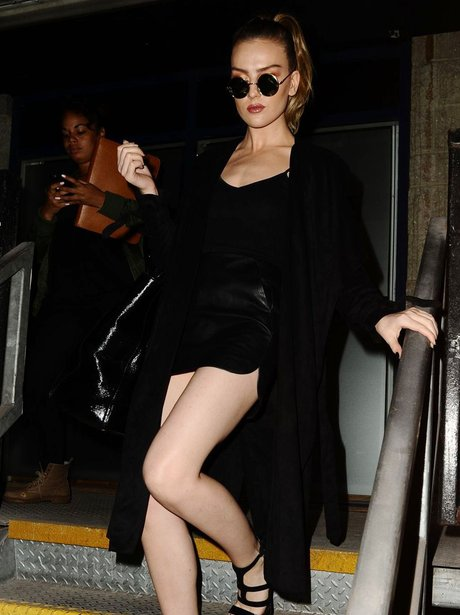 Perrie Ewards Revealing Outfit
