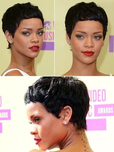 Rihanna Pixe Hair