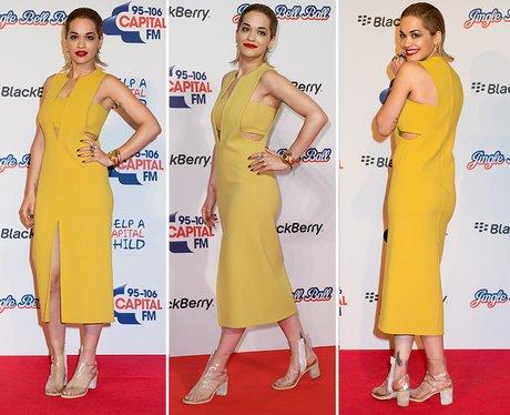 Rita Ora Jingle Bell Ball 2012
