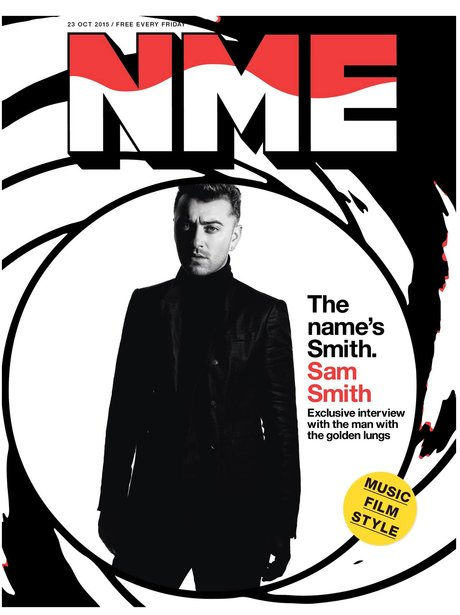 Sam Smith NME Magazine 2015