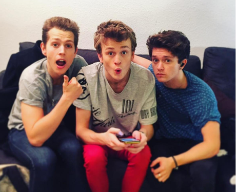 The Vamps on instagram