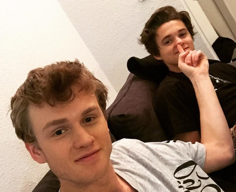Tristan Picking Brad's Nose The Vamps