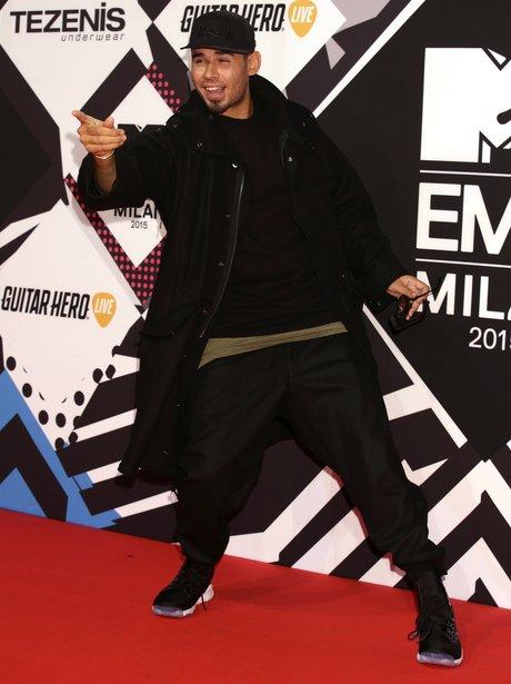Afrojack MTV EMA's 2015 Red Carpet