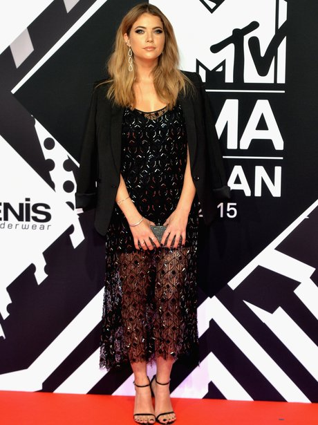 Ashley Benson MTV EMA's 2015 Red Carpet
