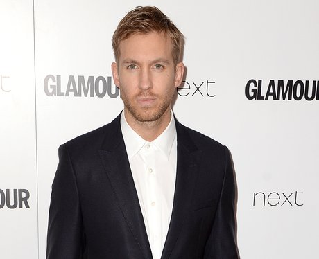 Calvin Harris Glamour Awards 2015