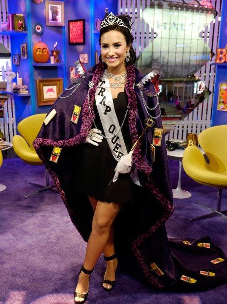 Demi Lovato Trap Queen Halloween