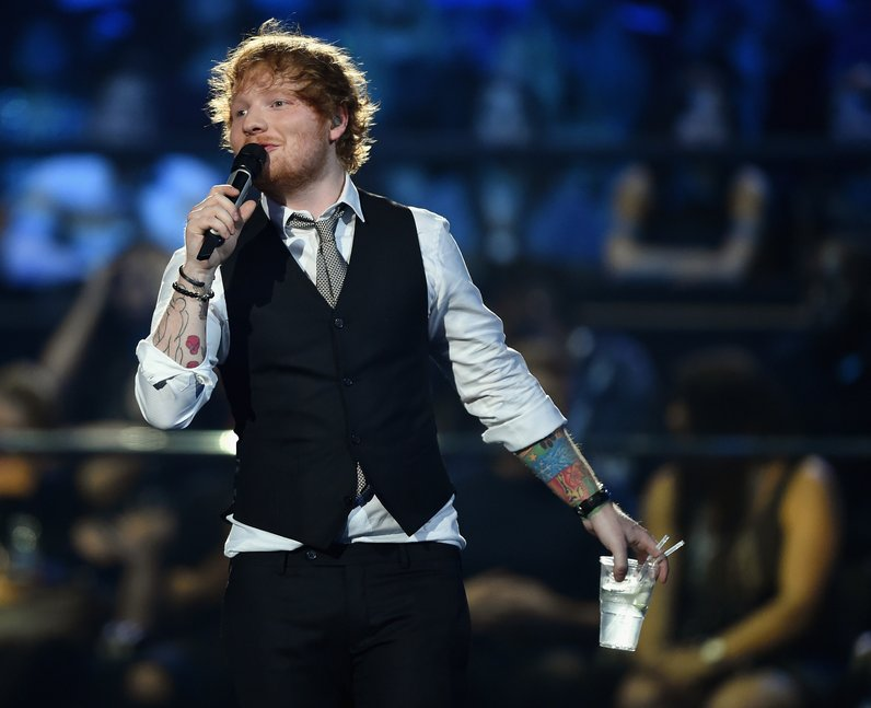Ed Sheeran MTV EMA's 2015 Show
