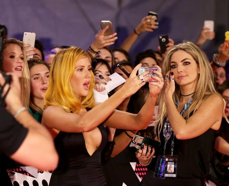 Ellie Goulding MTV EMA's 2015 Red Carpet