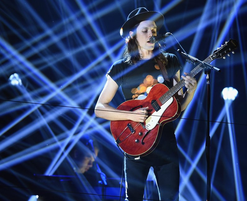 James Bay MTV EMA's 2015 Live