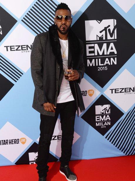 Jason Derulo MTV EMA's 2015 Red Carpet