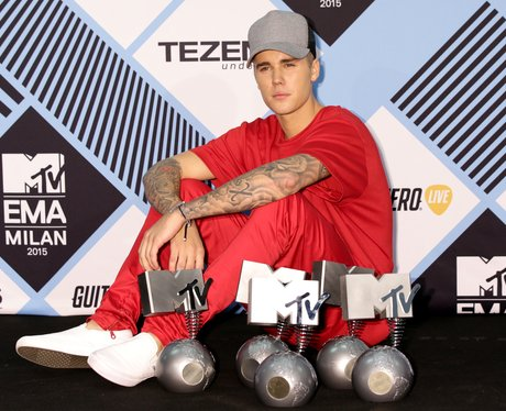 Justin Bieber MTV EMA's 2015 Awards