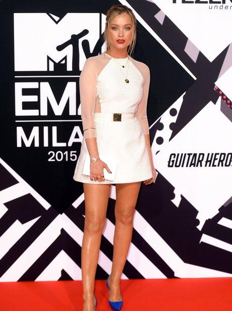 Laura Whitmore MTV EMA's 2015 Red Carpet