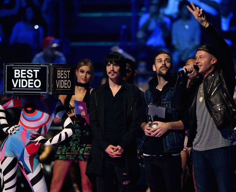 Macklemore MTV EMA's 2015 Show