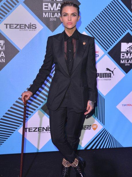 Ruby Rose MTV EMA's 2015