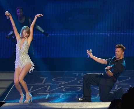 Taylor Swift And Ricky Martin 1989 Tour
