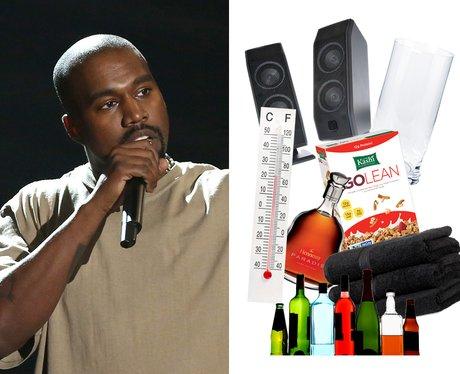 Celebrity Riders: Kanye West