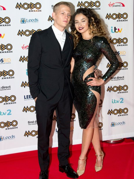 Ella Eyre and boyfriend MOBO Awards 2015