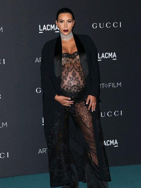 Kim Kardashian attends LACMA 2015 Art+Film Gala i
