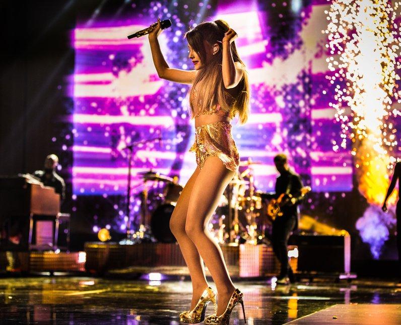 Ariana Grande American Music Awards 2014