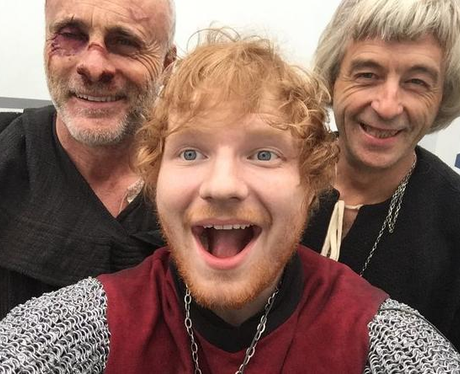 Ed Sheeran TV Cast Instagram