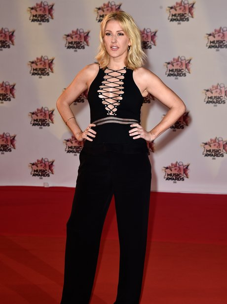 Ellie Goulding attends the 17th NRJ Music Awards