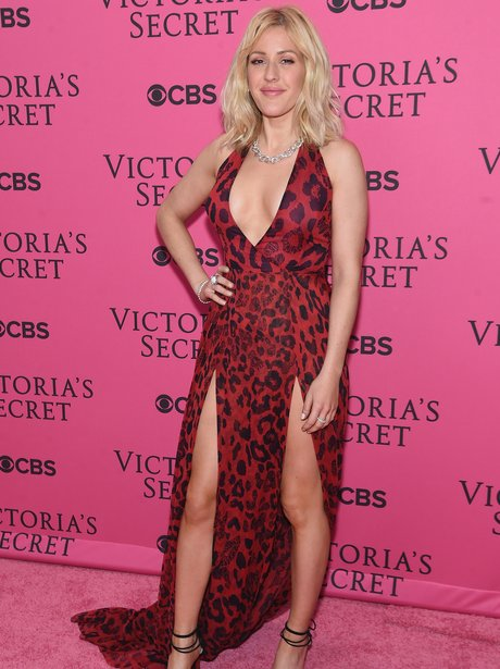 Ellie Goulding Victoria's Secret Fashion Show 2015