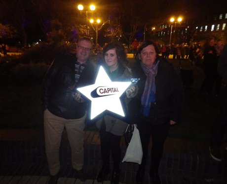 Hull Xmas Light Switch On