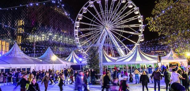 birminghams christmas markets ice rink is back - Birmingham Christmas Market