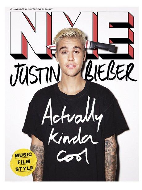 Justin Bieber NME Magazine 2015