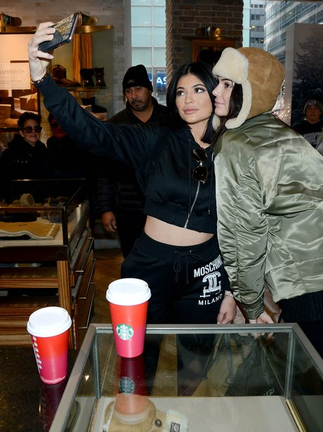 Kendall and Kylie Shopping Selfie